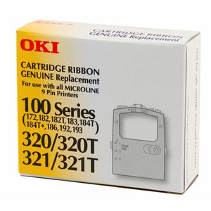 OKI R100/320 Ribbon Black