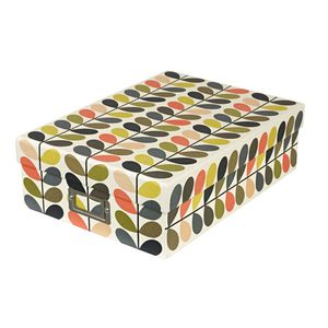 Orla Kiely A4 Document Box Multi Stem