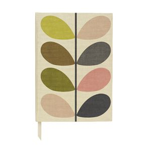 Orla Kiely A5 Address Book
