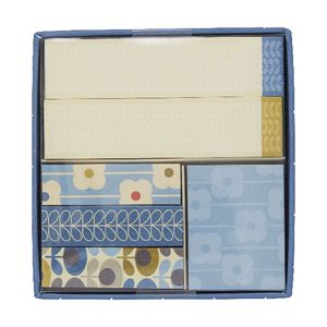 Orla Kiely Sticky Note Set Blue