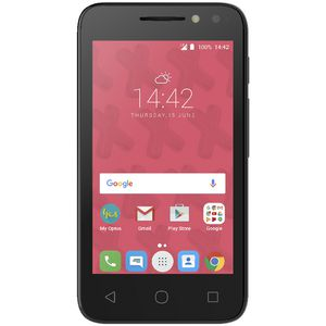Optus X Play Prepaid Mobile Phone Volcano Black 4034X