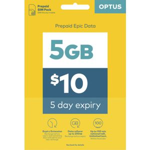 Optus $10 Voice Triple SIM Starter Kit
