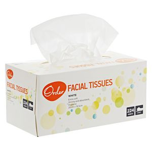 Order Facial Tissues 224 Sheets 24 Pack