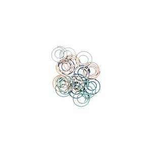 Otto Swirl Paper Clips 50 Pack