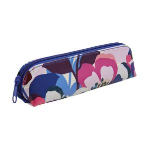 Otto Single Zip Tube Pencil Case Floral