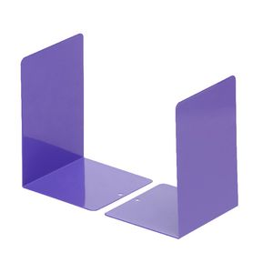 Otto Metal Bookends Medium Purple