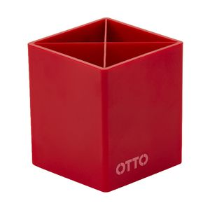 Otto Brights Pen Cup Red