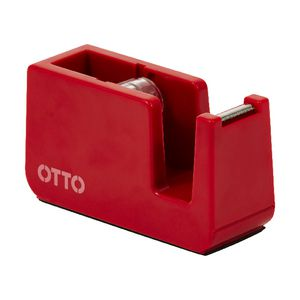 Otto Brights Tape Dispenser Red