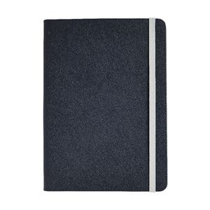Otto A5 Criss Cross Notebook Navy 192 Pages