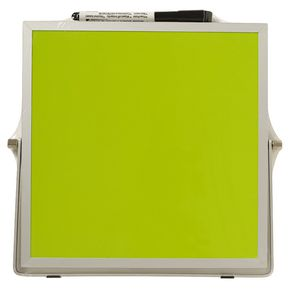 Double Sided Desktop Whiteboard Green