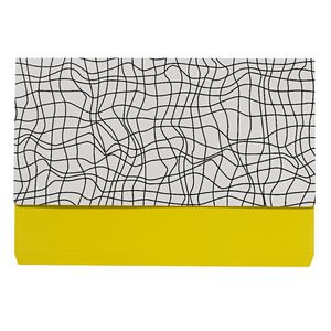 Otto A4 Manila Document Wallet Yellow