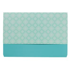 Otto A4 Manilla Document Wallet Aqua