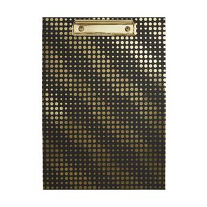 Otto Waves A4 Clipboard Gold/Black