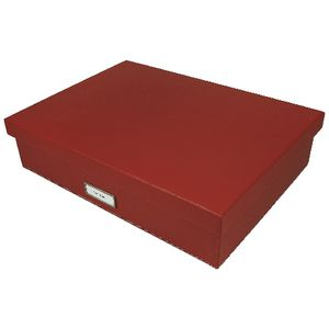 Otto A3 Storage Box Red