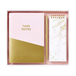 Otto A5 Notebook and Notepad Set Marble