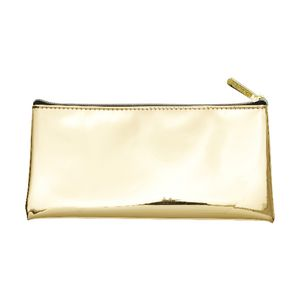 Otto Flat Pencil Case Gold