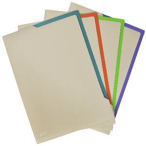Bantex On The Go Letter File 2 Tone A4 4 Pack