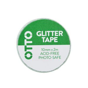 Otto Glitter Tape 10mm x 2m Green