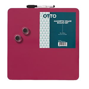 Otto Magnetic Erase Board Set Pink