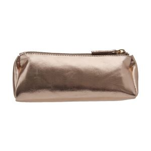 Otto Metallic Pencil Case Rose Gold