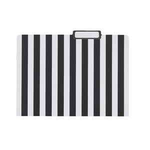 Otto Printed Manilla Folder A4 Black Stripe