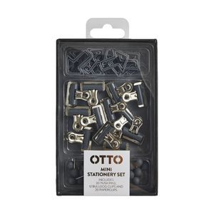 Otto Brights Mini Stationery Set Grey