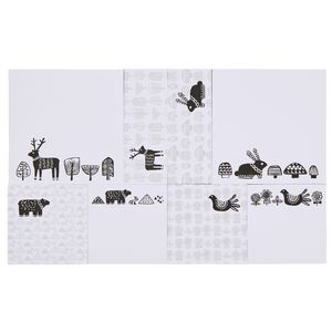 Otto Stick-it Notes Set Scandinavian Print