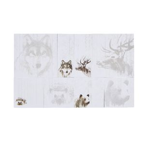 Otto Stick-it Notes Set Scandinavian Wild Life