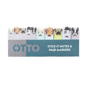 Otto Stick-it Notes and Page Markers Dogs