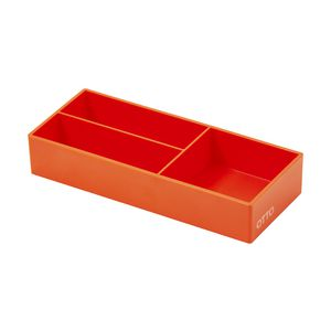 Otto Brights Mini Organiser Tray Orange