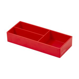 Otto Brights Mini Organiser Tray Red