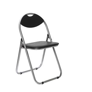 Attirant ... Padded Folding Chair Black