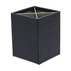 Otto Criss Cross Pen Cup Navy