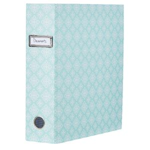 Otto Lever Arch Binder with Printed Spine Green