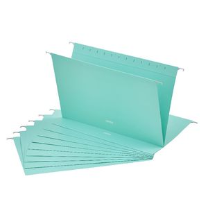 Otto Suspension File Foolscap Aqua 10 Pack