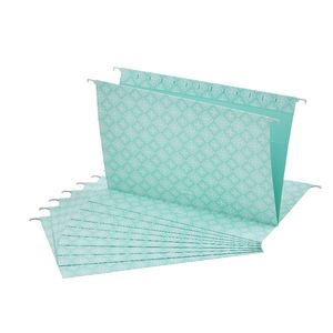 Otto Printed Suspension File Foolscap Mint 10 Pack