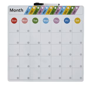 Otto Magnetic Monthly Calendar Board 36 x 36 cm