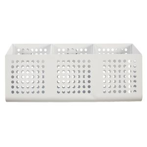 Otto 3 Pocket Mesh Organiser 270 x 85 x 128mm White