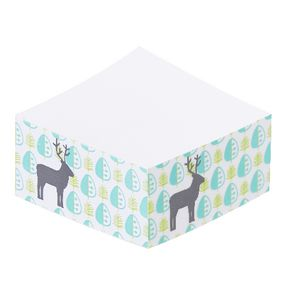 Otto Stick-it Note Block 65 x 65mm Scandinavian Deer