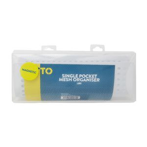 Otto Single Pocket Mesh Organiser 200 x 78 x 78mm White