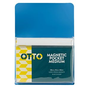 Magnetic Pocket 120 x 165mm Blue