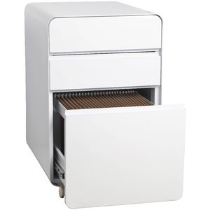 Venturo 3 Drawer Pedestal White