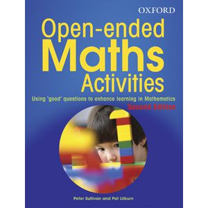 Oxford Open-Ended Maths Activities Teachers Reference