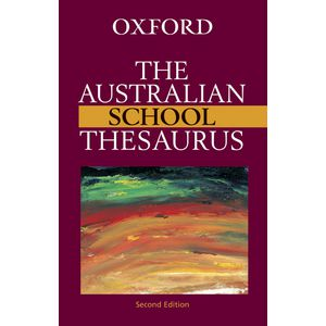 Oxford Australian School Thesaurus