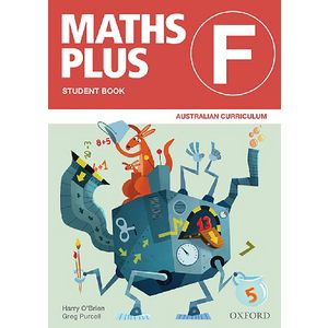 Oxford Maths Plus AC Student Book Foundation
