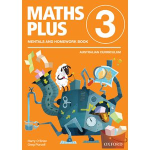 Oxford Maths Plus AC Mentals and Homework Book 3