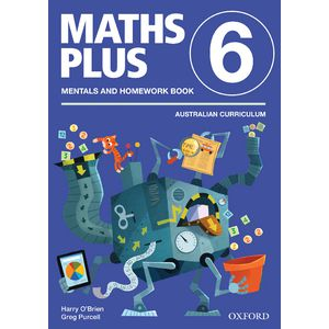 Oxford Maths Plus AC Mentals and Homework Book 6