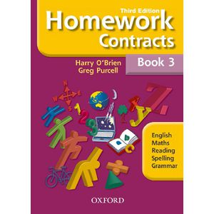 Oxford Homework Contracts Book 3