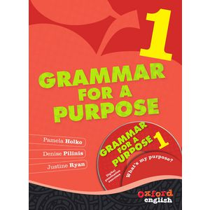 Oxford Grammar For A Purpose Book 1