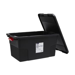 J.Burrows 100L Heavy Duty Container Black